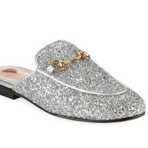 gucci princetown glitter mule